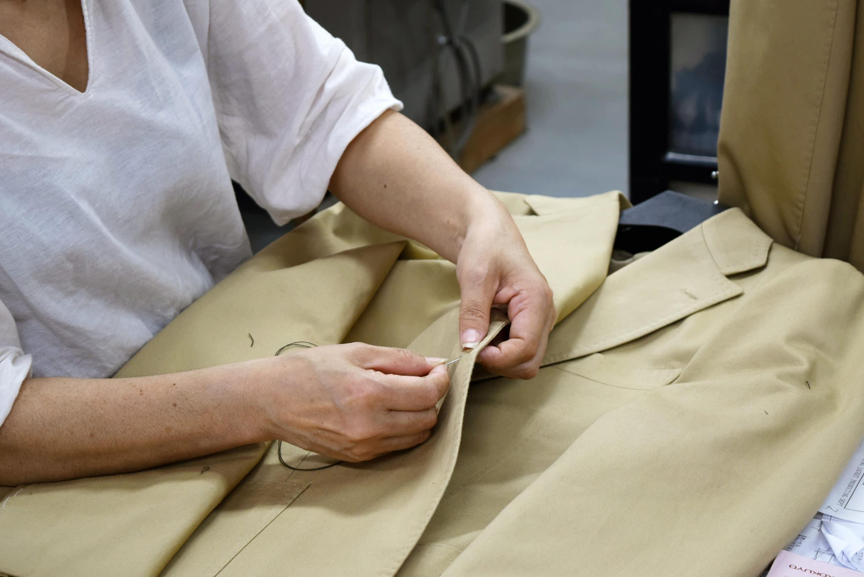 Ring Jacket 西裝外套所有的釦子都是人工手縫的